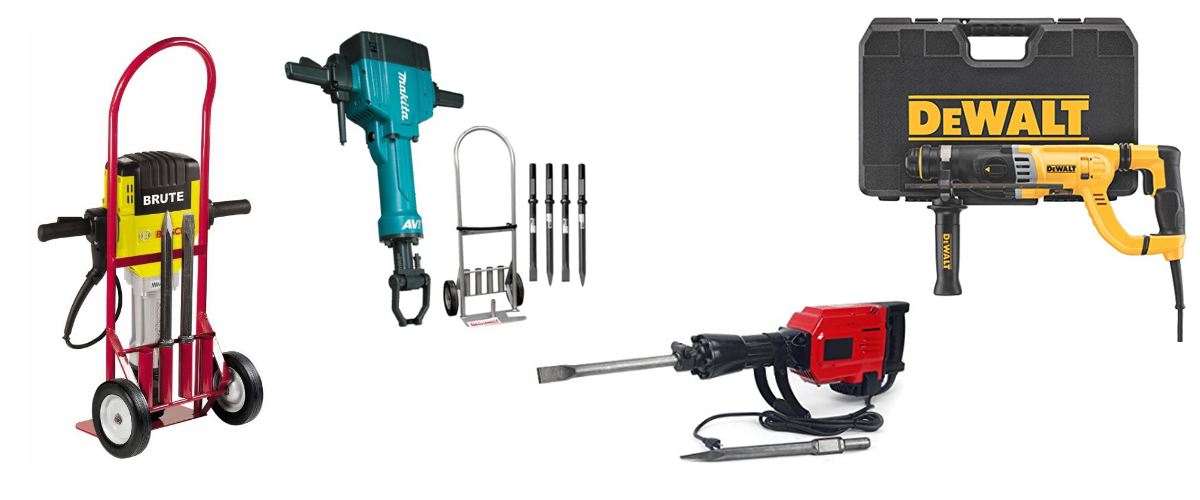 The Best and Most Recommended Electric Hammer Drill List